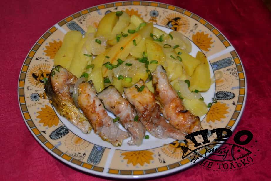 Запеченный пеленгас в духовке рецепт