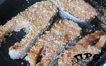 как пожарить лосось вкусно