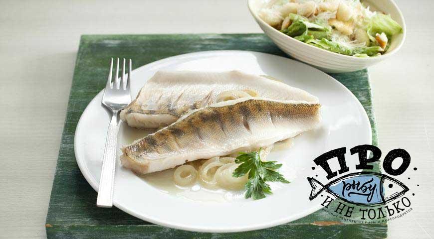 припущенная рыба