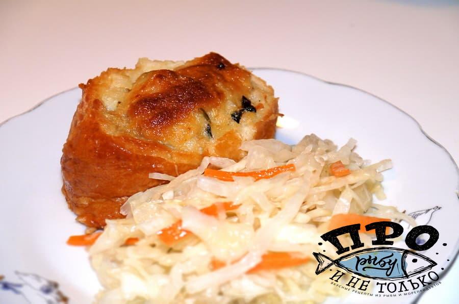 горячие бутерброды с рыбой
